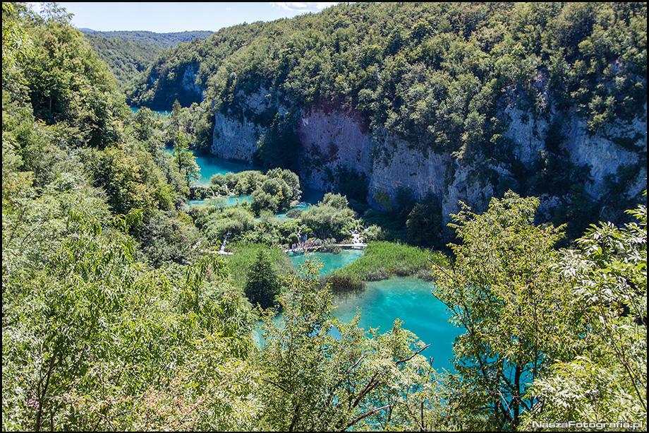 Chorwacja Plitwickie Jeziora - fotografia
