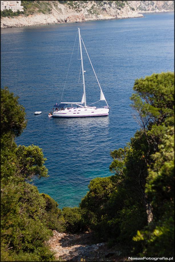 Chorwacja - Wyspa Lokrum