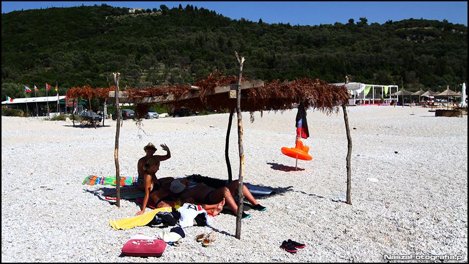 Plaża Livadi w Himare